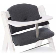 Комплект за стол за хранене Hauck - Select, Jersey charcoal -1