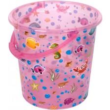 Кофа за изплакване Sevi Baby - Розова, 17 l -1