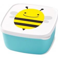 Комплект кутии за храна Skip Hop - 3 броя, пчеличка -1