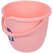 Кофа за изплакване Sevi Baby - Розова, 13 l -1