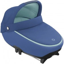 Кош за новородено Maxi-Cosi - Jade, Essential Blue -1
