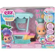 Комплект IMC Cry Babies Magic Tears - Сладкарската Количка на Кони -1