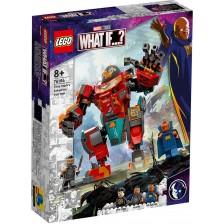 Конструктор Lego Marvel Super Heroes - Железният човек от Сакаар на Тони Старк (76194) -1