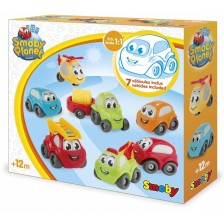 Комплект колички Smoby Vroom Planet - Collector Box -1