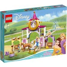 Конструктор Legо Disney Princess - Кралските конюшни на Бел и Рапунцел (43195) -1