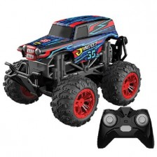 Кола с пара Ocie - Steam Monster Beast Radio/C 1:18, червен -1