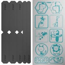 Комплект светлоотразителни стикера Reer - Light Reflex, 18 броя -1