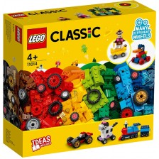 Конструктор Lego Classic  - Тухлички и колела (11014) -1