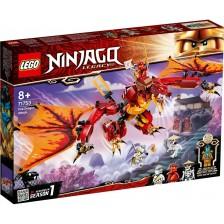 Конструктор Lego Ninjago - Нападение на огнен дракон (71753) -1