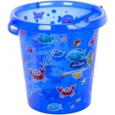 Кофа за изплакване Sevi Baby - Синя, 12 l -1