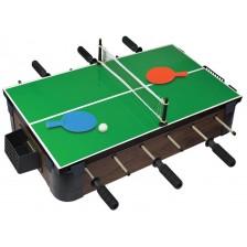 Комплект игри за маса Ambassador 5 в 1 - Тенис на маса, Шах, Дама, Табла и Джага -1