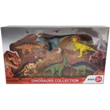 Комплект фигури Ocie - Динозаври, 6 броя, вид 2 -1
