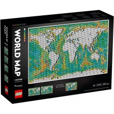 Конструктор Lego Art - Карта на света (31203) -1