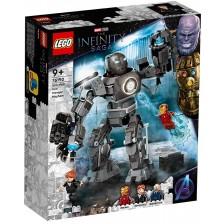 Конструктор Lego Marvel Super Heroes - Iron Man: Хаос с Iron Monger (76190) -1
