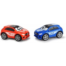 Количка Dickie Toys - Mercedes-Benz A-Class squeezy,  aсортимент -1