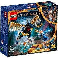 Конструктор Lego Marvel Super Heroes - Въздушно нападение на Eternals (76145) -1