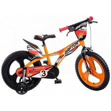 """Детско колело Dino Bikes - Raptor, 16"""" -1"""