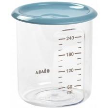 Контейнер за съхранение на храна Beaba - Тритан, 300 ml, син -1