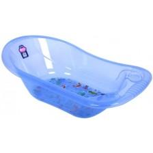 Комплект за къпане от 5 части Sevi Baby - Морски животни, син -1