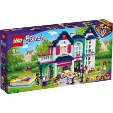 Конструктор Lego Friends - Семейната къща на Aндреа (41449) -1