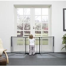 Комбинирана преграда BabyDan - Черна, L -1