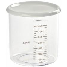 Контейнер за съхранение на храна Beaba - тритан, сив, 500 ml -1