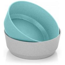 Комплект купички Reer, 2 броя, синя и сива -1