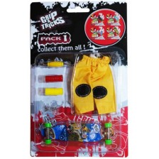 Комплект играчки за пръсти Grip&Trick - Long Board, син -1