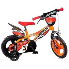 """Детско колело Dino Bikes - Raptor, 12"""" -1"""