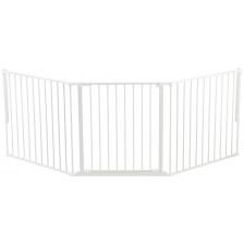 Комбинирана преграда BabyDan - Бяла, L -1