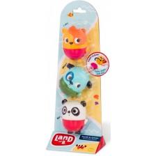 Комплект за баня - Куче, Коте и Панда -1