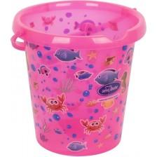 Кофа за изплакване Sevi Baby - Розова, 12 l -1
