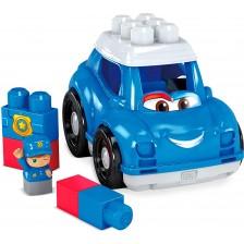 Комплект Fisher Price Mеga Bloks - Полицейска кола -1