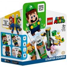 Конструктор Lego Super Mario - Приключения с Luigi начална писта (71387) -1