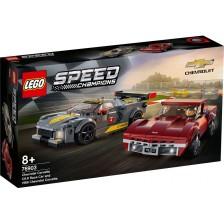 Конструктор Lego Speed Champions - Chevrolet Corvette C8.R и 1968 Chevrolet Corvette (76903) -1