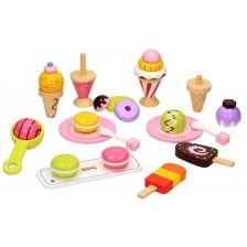 Игрален комплект Lelin - Сладоледи -1