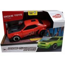 Количка Dickie Toys - Dodge Challenger SRT Hellcat, червена -1