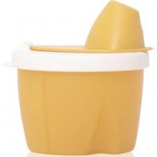Контейнер за адаптирано мляко Lorelli - My friend, жълт -1