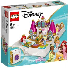 Конструктор Lego Disney Princess - Приказното приключение на Ариел, Бел, Тиана и Пепеляшка (43193) -1
