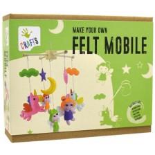 Комплект за шиене от филц Andreu toys - Вълшебен свят -1