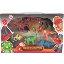 Комплект фигури Ocie - Динозаври, 6 броя -1