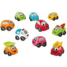 Комплект колички Smoby Vroom Planet - Bubble Car -1