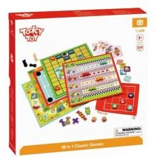 Комплект класически игри Tooky Toy - 18 в 1 -1
