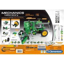 Конструктор Clementoni Mechanics Laboratory - Трактор, 200 части -1