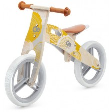 Колело за баланс KinderKraft - Runner, Жълто -1