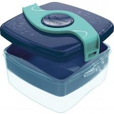 Кутия за храна Maped Origin - Синьо-зелена, 1400 ml -1