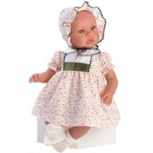 Кукла бебе Asi - Лея, с рокля, 46 cm -1