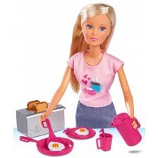Кукла Simba Toys Steffi Love - Кукла Стефи на закуска -1