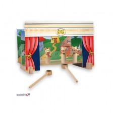 Куклен театър с магнити -1