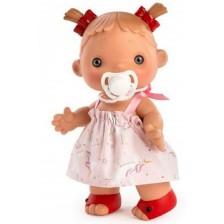 Кукла Asi - Даниела с розова рокля с еднорог, 23 cm -1